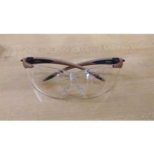 Lunette de securite North Monture brune - Claire