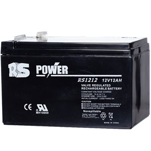 Batterie rechargeable 12 volts 12 amp.