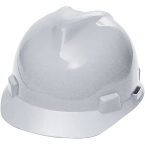 Casques de protection V-Gard - Suspensions Fas-Trac - blanc