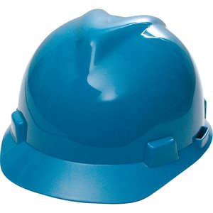 Casques de protection V-Gard - Suspensions Fas-Trac - bleu